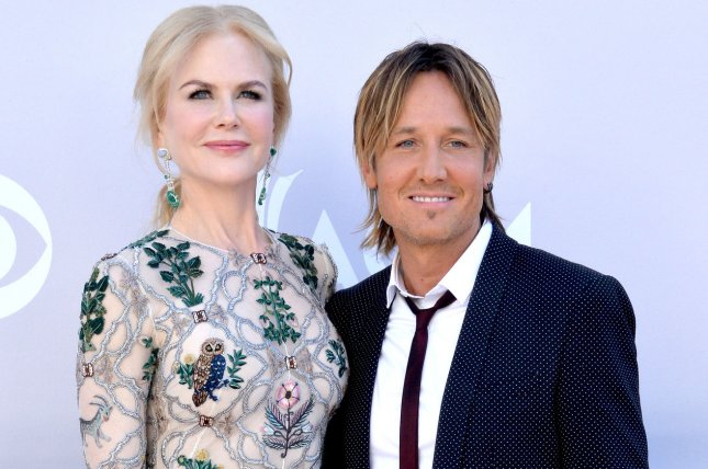 Nicole Kidman (L) and Keith Urban attend the Academy of Country Music Awards on April 2. The actress talked about her marriage to Urban in the July issue of InStyle. File Photo by Jim Ruymen/UPI