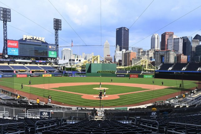 The Pittsburgh Pirates and Toronto Blue Jays planned to share Pittsburgh's PNC Park for home games during the 2020 MLB season. Photo by Archie Carpenter/UPI