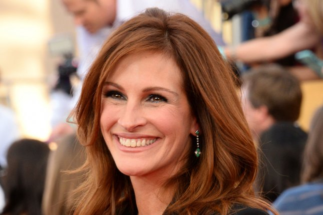 Julia Roberts at the SAG Awards on Jan. 25. The actress stars in an intense new 'Secret in Their Eyes' trailer. File Photo by Jim Ruymen/UPI