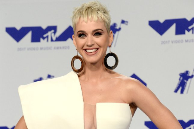 Katy Perry attends the MTV Video Music Awards on August 27, 2017. File Photo by Jim Ruymen/UPI