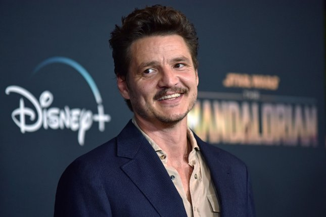 The Mandalorian star Pedro Pascal. Season 2 of the Star Wars series will be released in October. File Photo by Chris Chew/UPI
