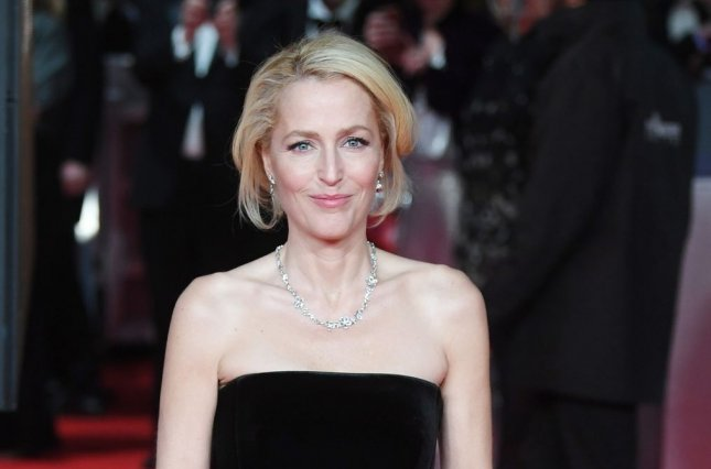 Sex Education star Gillian Anderson attends the red carpet at the British Academy Film Awards in February 2020. Season 3 of the series is coming in September. File Photo by Rune Hellestad/UPI