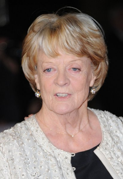 English actress Maggie Smith attends the Gala Screening of Quartet during The 56th BFI London Film Festival, The Odeon Leicester Square in London on October 15, 2012. UPI/Paul Treadway..