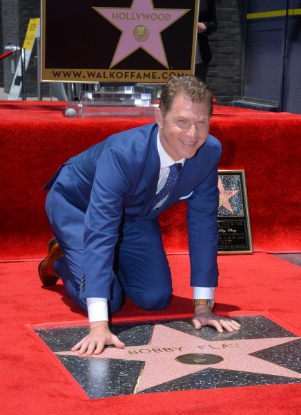 Bobby Flay at his Hollywood Walk of Fame ceremony June 2, 2015. Photo by Jim Ruymen/UPI