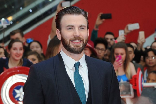 Chris Evans attends the UK premiere of Captain America: Civil War at Westfield in London on April 26, 2016. In his new film, Gifted, Evans stars as Frank, an uncle who becomes embroiled in a custody battle with his mother over his 7-year-old niece. File Photo by Paul Treadway/ UPI