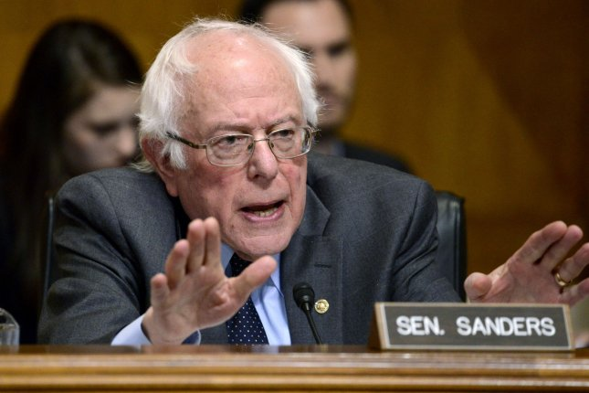 Sen. Bernie Sanders says jumping the gun does nobody any good regarding the call from some House members and donors to impeach President Trump. File Photo by Mike Theiler/UPI