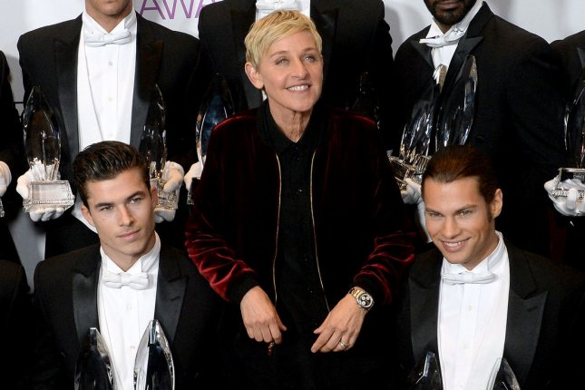 Ellen DeGeneres hosted a star-studded birthday bash on Saturday night