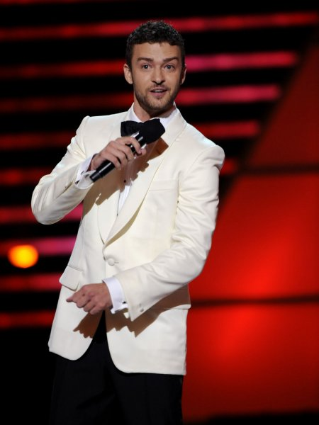 Justin Timberlake performs during the 2008 ESPY Awards held at NOKIA Theatre in Los Angeles on July 16, 2008. (UPI Photo/Jim Ruymen)