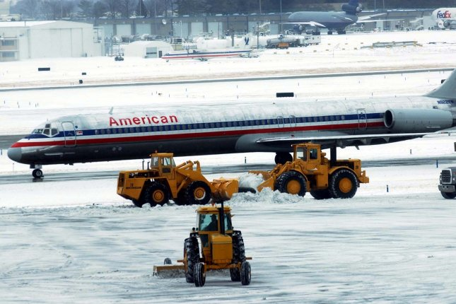 Anywhere there's de-icing going on, researchers say, groundwater may be getting robbed of oxygen. File photo by Bill Greenblatt/UPI