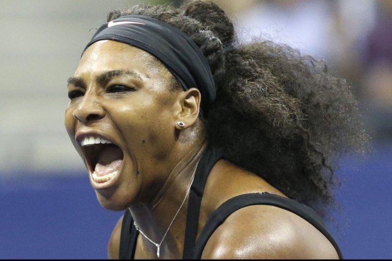 Serena Williams. Photo by John Angelillo/UPI