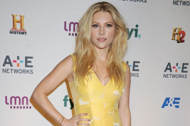 Katheryn Winnick arrives on the red carpet at the 2015 A+E Network Upfront on April 30, 2015. Winnick has joined the cast of Dark Tower. File Photo by Dennis Van Tine/UPI
