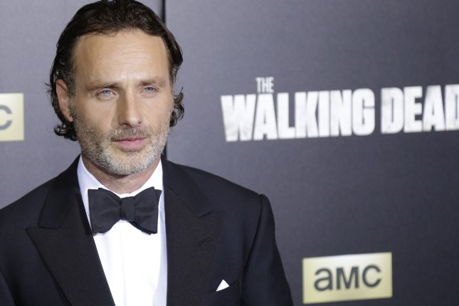 Andrew Lincoln's final episode of The Walking Dead aired on AMC Sunday night. File Photo by John Angelillo/UPI