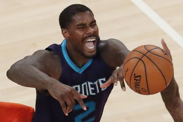 Marvin Williams and the Charlotte Hornets take on the New York Knicks on Friday. Photo by John Angelillo/UPI