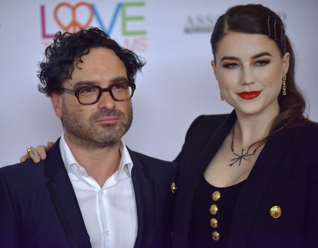 Johnny Galecki and his girlfriend Alaina Meyer announced the birth of their son Avery in an Instagram post on Wednesday. File Photo by Chris Chew/UPI