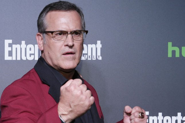 Bruce Campbell will soon be seen in Season 4 of A.P. Bio. File Photo by John Angelillo/UPI