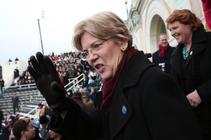 Sen. Elizabeth Warren (D-MA). UPI/Win McNamee/pool