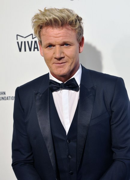 Gordon Ramsay arrives at the Elton John Aids Foundation's 24th Annual Academy Awards viewing party in West Hollywood on February 28, 2016. The chef is getting three new shows on ITV. File Photo by Christine Chew/UPI