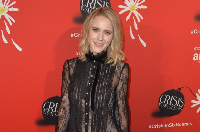 Rachel Brosnahan arrives at The Crisis in Six Scenes premiere in New York City on September 15, 2016. The actress' comedy series The Marvelous Mrs. Maisel has been greenlit for two seasons by Amazon. File Photo by Andrea Hanks/UPI