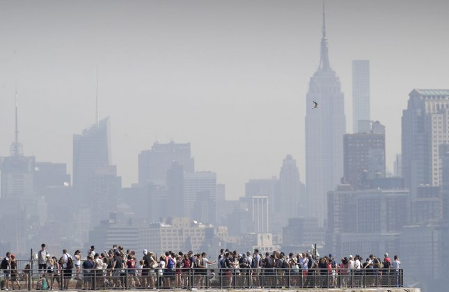 New research suggests that smog in large cities, such as New York City, could affect the bones of older people. File photo by John Angelillo/UPI