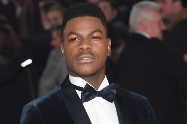 British actor John Boyega plays the son of Idris Elba's character General Stacker Pentecost in Pacific Rim Uprising, due in theaters March 23. Photo by Rune Hellestad/ UPI