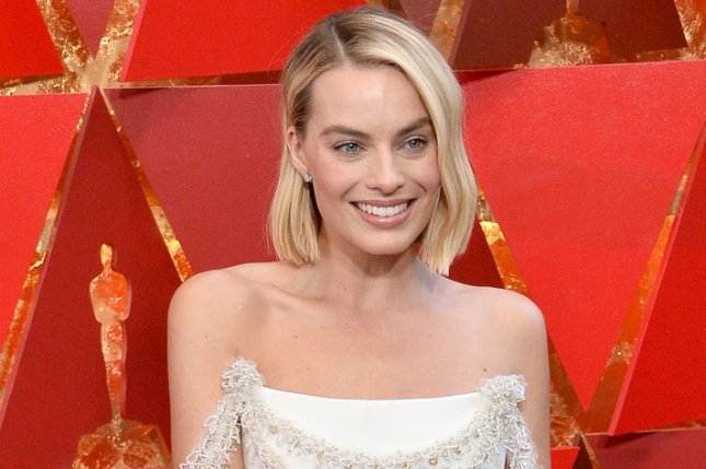 Margot Robbie has posted on social media the full title of Birds of Prey that includes Harley Quinn. File Photo by Jim Ruymen/UPI