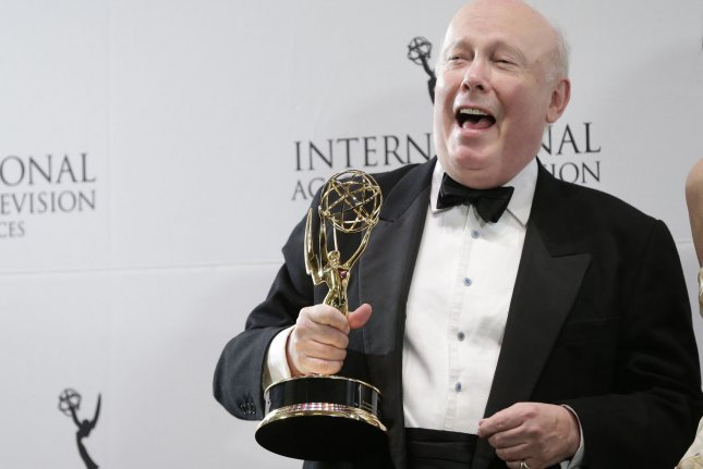 Downton Abbey creator Julian Fellowes is working on a new miniseries called Belgravia. File Photo by John Angelillo/UPI