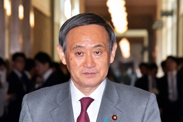 Japan's Chief Cabinet Secretary Yoshihide Suga said Tuesday North Korea demands are unacceptable following an incident at sea. File Photo by Keizo Mori/UPI