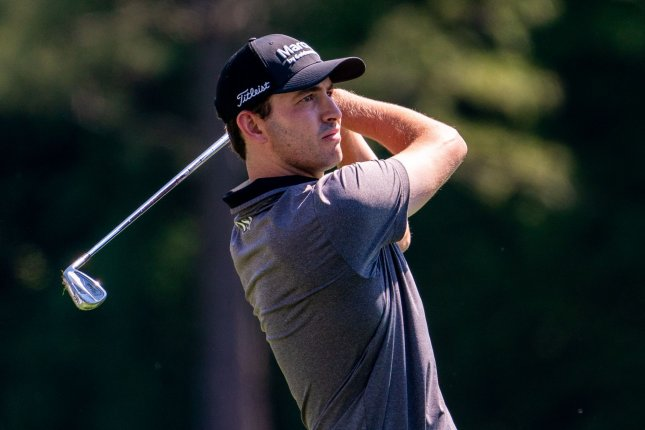 Patrick Cantlay, shown April 5, 2021, closed with a 1-under 71 and beat Collin Morikawa with a par on the first playoff hole Sunday at the Memorial Tournament. File Photo by Kevin Dietsch/UPI