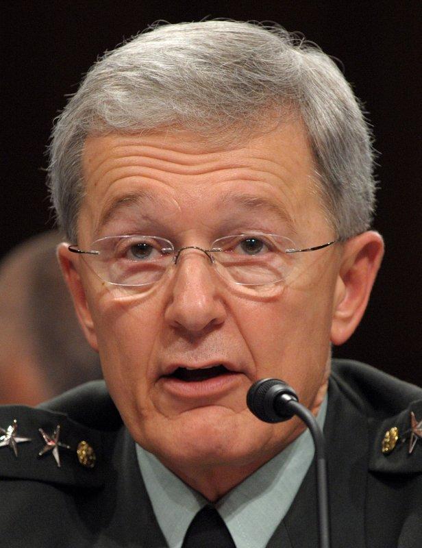 Gen. Bantz J. Craddock, retiring U.S. European Command commander and supreme allied commander for Europe, NATO