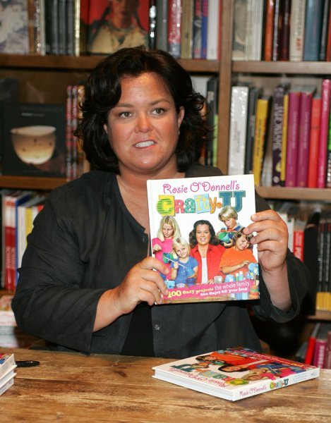 File photo of Rosie O'Donnell dated June 28, 2008. (UPI Photo/Michael Bush)