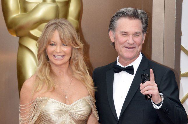 Goldie Hawn (L) said her longtime relationship with Kurt Russell is successful because of compatibility and communication. File photo by Kevin Dietsch/UPI