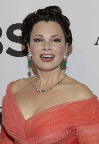 Fran Drescher at the Tony Awards on June 8, 2014. The actress played Fran Fine on The Nanny. File Photo by John Angelillo/UPI