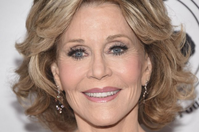 Jane Fonda attends the Carousel of Hope Ball on October 8, 2016. File Photo by Phil McCarten/UPI