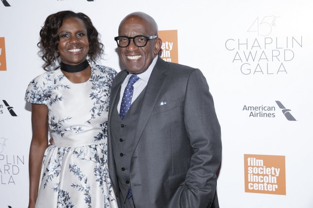 Al Roker (R), pictured with Deborah Roberts, will have hip resurfacing surgery after experiencing pain and osteoarthritis. File Photo by John Angelillo/UPI