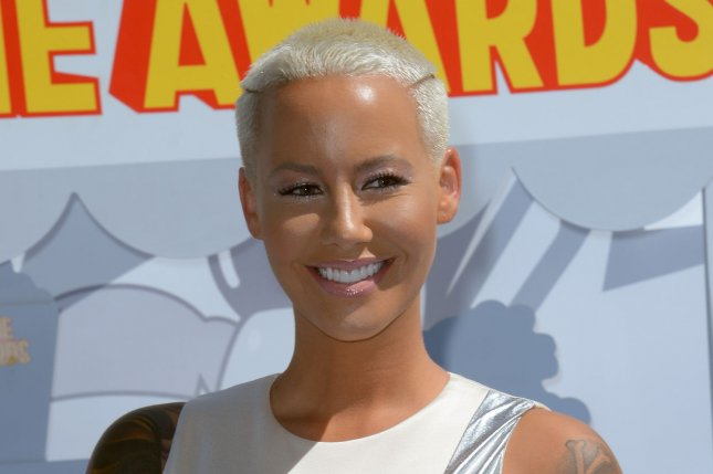 Model Amber Rose. Photo by Jim Ruymen/UPI