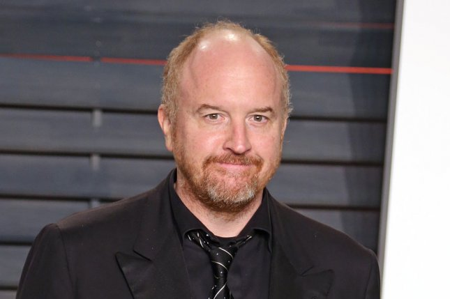 Louis C.K. attends the 2016 Vanity Fair Oscar Party at the Wallis Annenberg Center for the Performing Arts on February 28, 2016. The comedian is to star in two standup specials for Netflix. File Photo by David Silpa/UPI