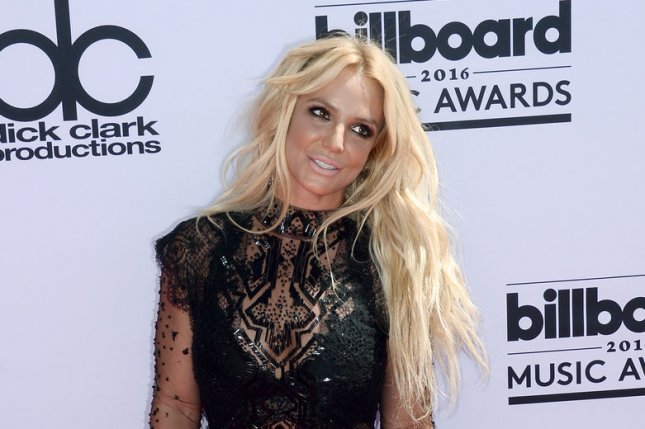 Britney Spears attends the annual Billboard Music Awards on May 22, 2016. The singer was ushered offstage Wednesday following an incident at her Piece of Me residency show. File Photo by Jim Ruymen/UPI