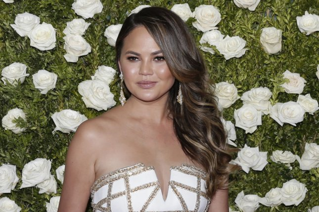 Chrissy Teigen attends the Tony Awards on June 11, 2017. File Photo by John Angelillo/UPI