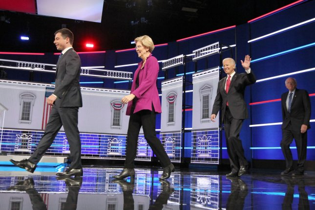Thursday's Democratic debate will take place as planned after a union representing workers at the venue reached a tentative deal with a catering provider over a labor dispute. File Photo by Tami Chappell/UPI