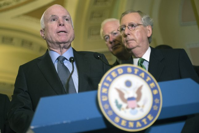 John McCain's recovery from surgery just complicated the Senate's Obamacare repeal vote