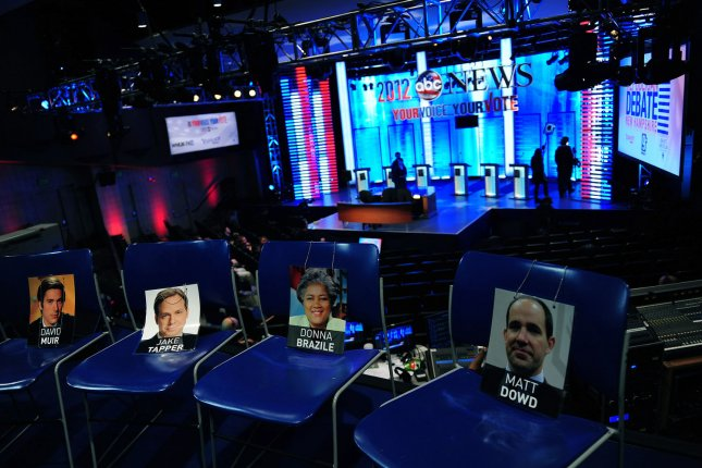 The third round of debates will include stricter qualification requirements. File Photo by Kevin Dietsch/UPI