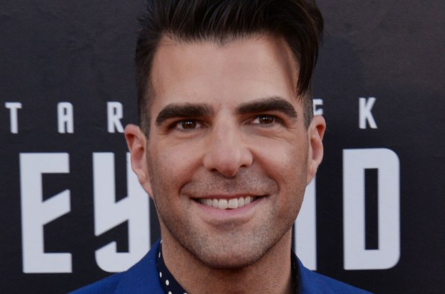 Zachary Quinto is to lend his voice to a character on the new animated show Invincible. File Photo by Jim Ruymen/UPI