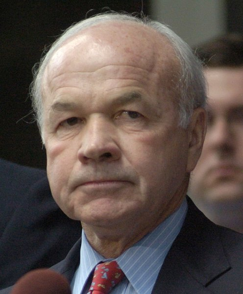 File photo of the late Enron CEO Ken Lay dated May 25, 2006. (UPI Photo/Johnny Hanson/FILE)