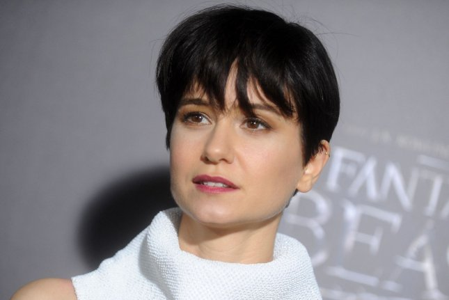 Katherine Waterston arrives on the red carpet at the Fantastic Beasts and Where to Find Them world premiere on November 10, 2016 in New York City. The actress will soon be seen in the sci-fi movie Alien: Covenant. File Photo by Dennis Van Tine/UPI