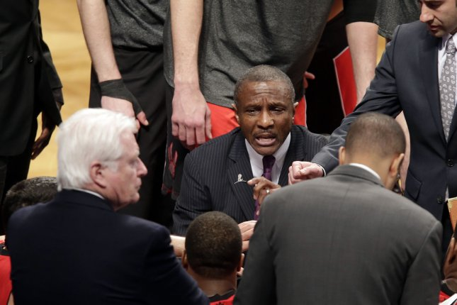 Former Toronto Raptors head coach Dwane Casey. File photo by John Angelillo/UPI