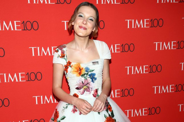 Millie Bobby Brown stars in the new trailer for Godzilla: King of the Monsters alongside Kyle Chandler. File Photo by Monika Graff/UPI