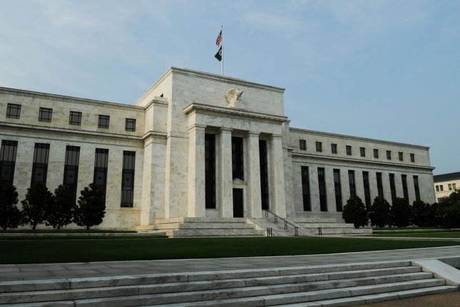 The Federal Reserve building is seen in Washington. File Photo by Alexis C. Glenn/UPI