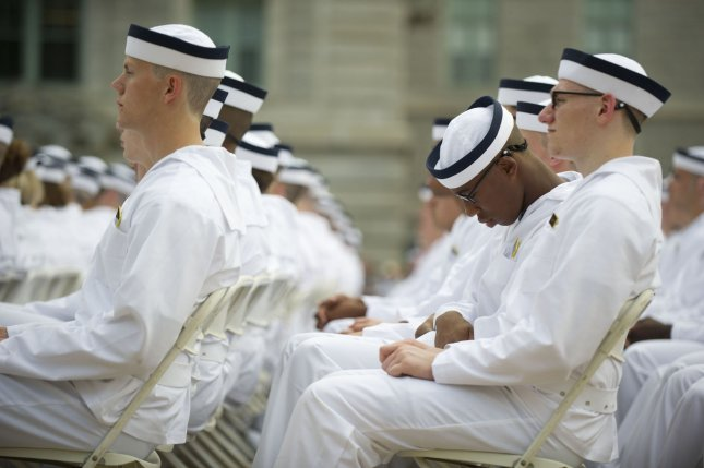 40 million U.S. adults suffer sleep disorders and summer doesn't help. A plebe falls asleep during the oath of office ceremony on Induction Day at the U.S. Naval Academy on June 27, 2013 in Annapolis, Maryland.. UPI/Kevin Dietsch