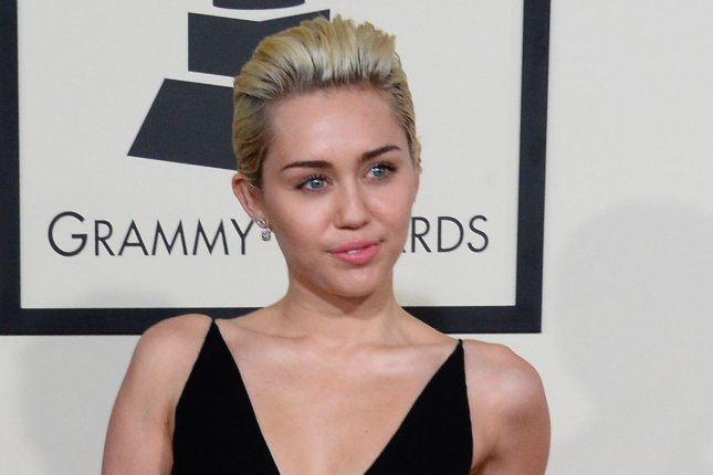 A short film starring singer Miley Cyrus will be screened at the first ever NYC Porn Film Festival on Feb. 27 . Photo by Jim Ruymen/UPI
