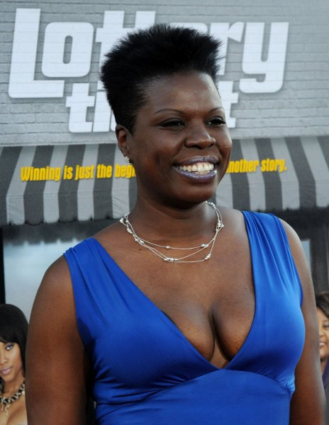 Ghostbusters cast member Leslie Jones attends the premiere of the motion picture comedy Lottery Ticket on August 12, 2010. Jones slammed designers on social media who were not willing to dress her. File Photo by Jim Ruymen/UPI